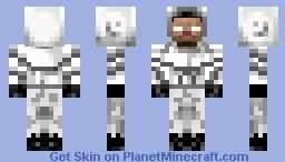 Astronaut Herobrine Minecraft Skin
