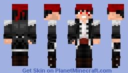 Neko (nouveau pseudo encore...) version Pirate Minecraft Skin