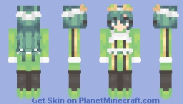 BNHA: Asui/Froppy (Uniform & Gym Outfit Included!) Minecraft Skin