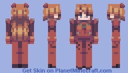 asuka langley (updated + alt in desc) Minecraft Skin