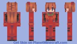🍰 dad || asuka langley ლ Minecraft Skin