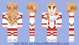 Asuna Sword Art Online Minecraft Skin