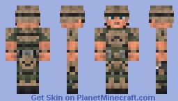 Combat Armor [Fallout] Minecraft Skin