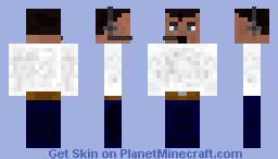 me when i am on my PC Minecraft Skin