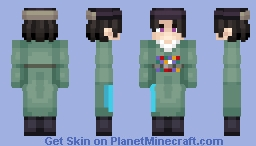 Atsushi Yi / Request Minecraft Skin