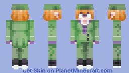 riddle me this! Minecraft Skin