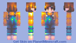 aureate roses . fs Minecraft Skin
