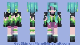 Lady Aurora Minecraft Skin