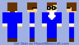 AUSTIN POWERS Minecraft Skin