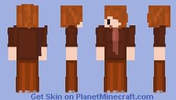 Chibi Autumn Folants Minecraft Skin
