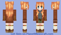 Cozy Autumn Cardigan 🍂 Minecraft Skin