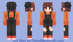 autumn leaves -/ skintober d.two Minecraft Skin