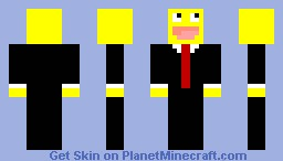 Yellow bobbii Minecraft Skin