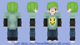 Smile Tee [Waterparks] Minecraft Skin