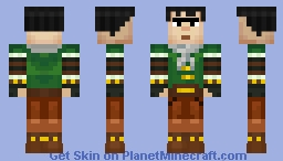 Axel Armored (Minecraft Story Mode) Minecraft Skin