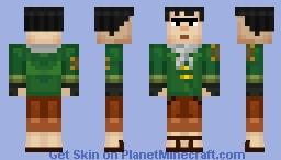 Axel (Minecraft Story Mode) Minecraft Skin