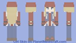 Axl Low (Guilty Gear) Minecraft Skin