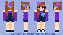 𝓐𝔁𝓼𝓽𝓱𝓮𝓽𝓲𝓬 - 𝓯𝓻𝓲𝓮𝓷𝓭𝓵𝔂 𝓯𝓲𝓻𝓮! Minecraft Skin