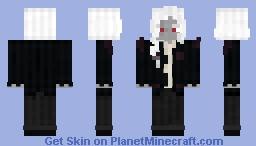[OLD Skin] The White Haired Dark Elf Minecraft Skin