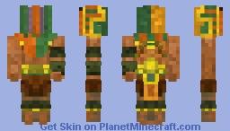 Ацтек_Лидер_Полководец_Монтесума_Конкурс(Ацтеки и Египтяни) Minecraft Skin