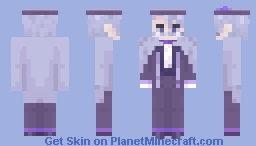Azul Ashengrotto - Dorm Uniform | Twisted Wonderland Minecraft Skin