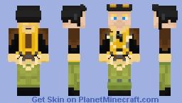 B-17 Bomber Crew Member Minecraft Skin