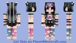 ibuki mioda Minecraft Skin