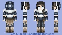 Legend of Korra - Avatar State Minecraft Skin