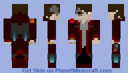 Bounty Hunter (with lightsaber) Minecraft Skin