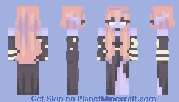 As the stars begin to rise Minecraft Skin
