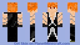 Ichigo (Tensa Zangetsu Version 2) Minecraft Skin