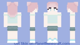 Pastel Summer ~ bubbelfolie Minecraft Skin