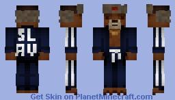 Russian Bear Minecraft Skin