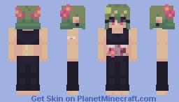 『flora』 Minecraft Skin
