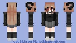 𝐻𝒾! 𝑀𝓎 𝓃𝒶𝓂𝑒 𝒾𝓈... Minecraft Skin