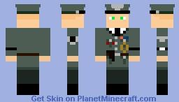 Reichsführer-SS und Chef der Deutschen Polizei VON WACHENFELT Minecraft Skin