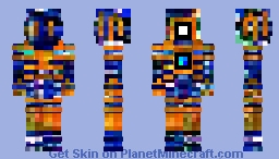 Ꮊ Tangerine Minecraft Skin