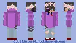 Real Robin x Online Robin Minecraft Skin