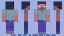 Trippy Steve Minecraft Skin