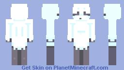【𝚝𝚑𝚎 𝚜𝚑𝚢 𝚐𝚑𝚘𝚜𝚝】 Minecraft Skin