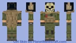 Ghost - Modern Warfare Minecraft Skin