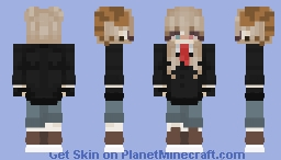 Female Jschlatt Minecraft Skin