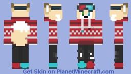 Festive Rick Wilde Minecraft Skin