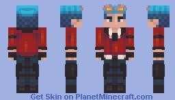 Neptune Vasilias // RWBY Minecraft Skin