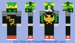 Roman/Communist gamer (Headpiece/Eagle and Sickle/Hammer) Minecraft Skin