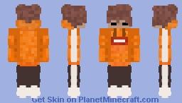 Orange Minecraft Skin