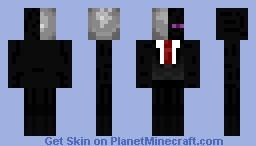 Lender man (Slender + ender man mix) Made by Bomzeezz Minecraft Skin