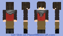 Tower Of God Baam / Yoru V3 :3 little changes FINAL Minecraft Skin