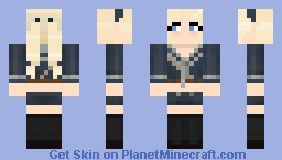 Sucker Punch: Babydoll (3D pigtails) Minecraft Skin