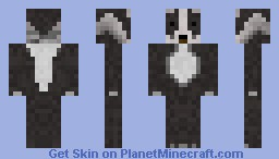 Badger. Minecraft Skin